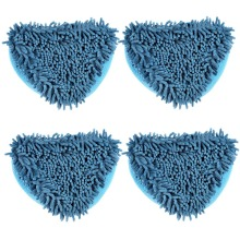 4pcs Blue Big size microfiber cloth cleaning for Floor Cover for H2O Mop X5 /Vax X2 /Bionaire Steam Mop Household Cleaning Tools