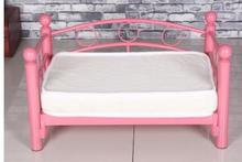 Dog kennel. Wrought iron bed. The dog bed princess bed.(China)