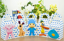 Pocoyo Party Favor Box Candy Box Gift Box Cupcake Box Boy Kids Birthday Party Supplies Decoration Event Party