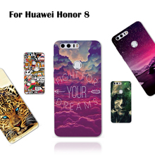 Phone Cases for Huawei Honor 8 Case Cover Luxury Premium TPU Protective Soft Silicone Back Cover for Huawei Honor 8 Phone Bag