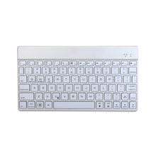 F3S Universal Bluetooth Keyboard Support Apple ios, Android, Microsoft Windows System-Sliver(China)