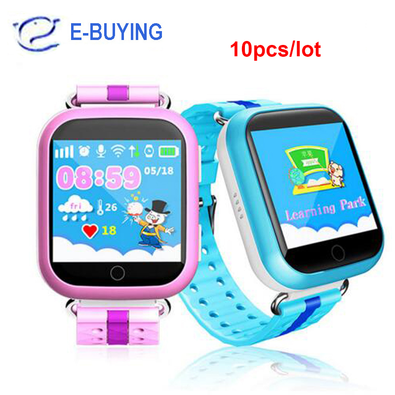 DHL 10pcs/lot GPS smart baby watch Q750 Q100 gw200s with Wifi 1.54 inch touch screen SOS Call Location Device Tracker for Kids(China)