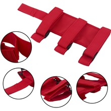 Red or black Car Trunk Autos Jeeps Store Content Bag Rapid Fire Extinguisher Fixing Holder Strong Strap Safety Band Fixed Belt