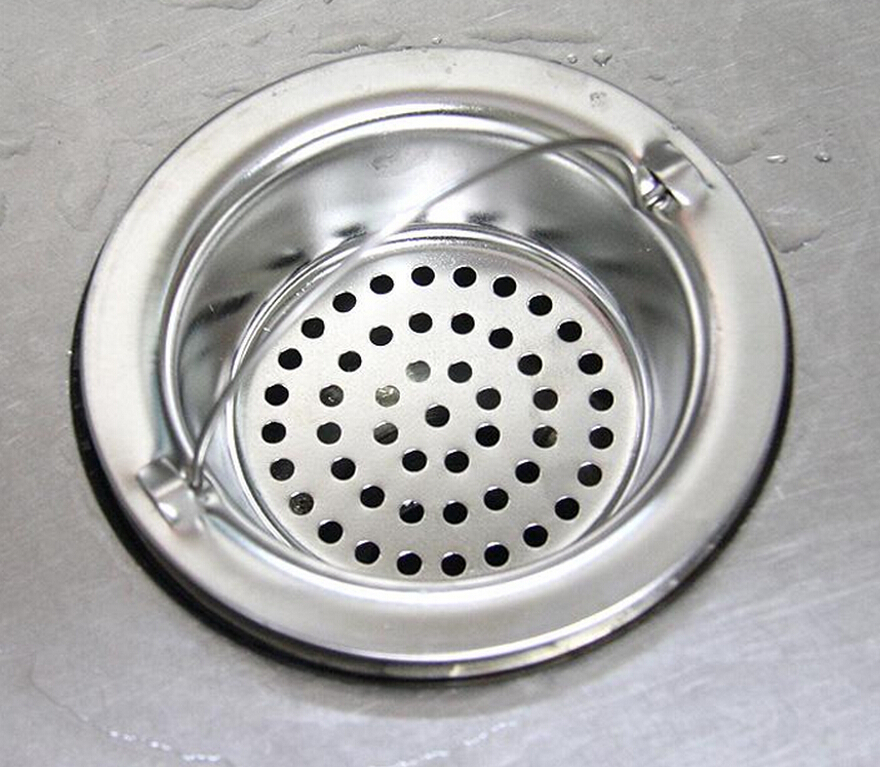 Creative Decoration Bathroom Stainless Steel Sink Drains Filter Strainer Kitchen  Sinks Single Bowl