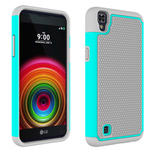 For LG X Power Case K210 K220DS Heavy Duty Silicon Armor Case Hybrid Shockproof Hard Case For LG X Power Hard Cover Rubber Case