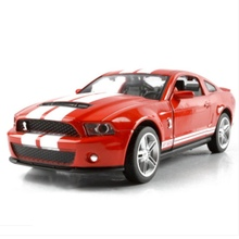1:32 Mustang GT500 Die Cast Model Collectors Car Toys Children free shipping(China)