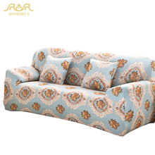 ROMORUS European Style Cover Sofa Elastic Couch corner Chair Sofa Cover Comfortable All-inclusive Flexible Slipcover Cover 70413