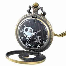 Vintage Charm Unisex Roman Number Quartz Steampunk Pocket Watch Women Man Necklace Pendant with Chain Gifts