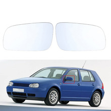 Car Door Mirror Heated Glass White Side Car-Styling for Volkswagen VW Jetta Golf MK4 Accessories