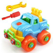 2017 Hot Sale High quality Toy Vehicles Gift Kids Child Baby Boy Educational Assembly Classic Car Toy Great Gift for Kids(China)