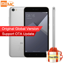 "Global Version Xiaomi Redmi Note 5A Note5A MIUI 9 Mobile Phones 2GB 16GB Snapdragon 425 Quad Core 5.5"" HD Display 2+1 Card Slot(China)"
