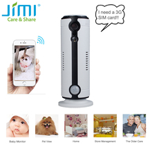 Jimi JH09 3G HD 720P Wifi IP Camera Wireless Network Home Security Camera CCTV Surveillance Mini Camera Support iPhone Android(China)