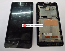 Original LCD Display + Touch Digitizer Screen glass  For 4.5'' Asus ZenFone 4.5 A450CG  with frame+tool free shipping