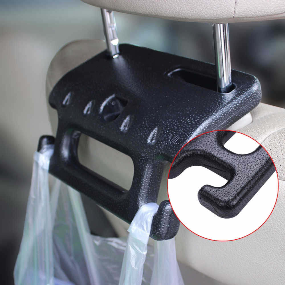 Universal Vehicle Car Safety Seat Armrest Headrest Back Hook Auto Multi-Purpose Interior Accessories (2)