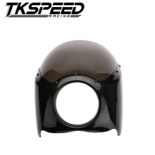 FREE SHIPPING new arrived Wide Glide/Custom Mid Motorcycle Headlight Plastic Front Fairing Kit for Harley