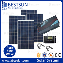 Solar energy equipment off grid residential solar power generator system,Energy saving off grid 5kw solar power system for home(China)