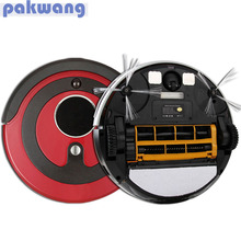 Pakwang robotic vacuum cleaner for home A380 (D6601) 0.8L dustbin Remote control Auto charge Intelligent Robot Vacuum Cleaner
