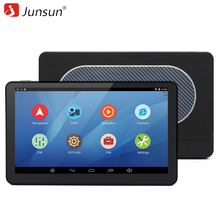 Junsun 7 inch Car GPS Navigation Android 4.4 WIFI/FM Quad-core Navitel/Europe Free Map Truck vehicle gps Automotive Navigator