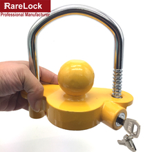 Rarelock Christmas Supplies Car Trailer Arm Padlock Lock for Yacht SUV RV ATV UTV Truck Car-styling Auto Parts Accessories DIY h(China)