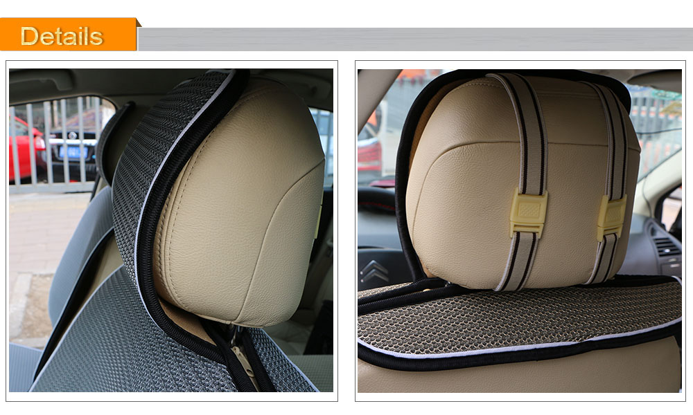 Breathable Mesh Car Seat Covers Pad Fit For Most Cars /Summer Cool ...