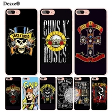 Desxz Guns n Roses Sweet Child cell phone Cover case for iphone 4 4s 5 5s SE 5c 6 6s 7 8 X plus(China)