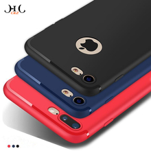 HCCZ latest style High quality TPU Matte soft silicone case for iPhone 6 6s 7 Plus 5 5s SE Frosted Elegance dustproof Phone case