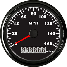 1pc GPS Speedometers Odometers Odograph 0-160MPH Milometers 9-32V Use for Cars with Light and GPS Antenna(China)