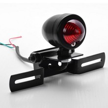 E support New black motorcycle accessories taillight motos motorbike refit retro brake lights DC12V/20W XY01