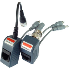 CJ-2004A 10Pair/Lot CCTV Audio Video Balun Transceiver BNC UTP RJ45 Video Balun,Power-Video-Audio Over CAT5/5E/6 Cable