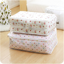 Quilt Storage Bag Duvet Bedding Finishing Dust Cover Blanket Pillow Clothing Cloest Divider Container Wardrobe Organizer Pouch