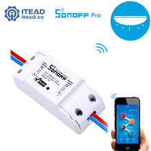 Itead Sonoff Pro - Smart Wifi Universal Wireless Swich Smart Home Automation for IOS Android 10A/2200W Snoff