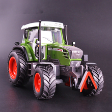1PCS Metal Alloy Sound and Light Yellow Exquisite Collection Baby Toys Car Styling Tractor Model 1:32 Truck Model Best Gifts