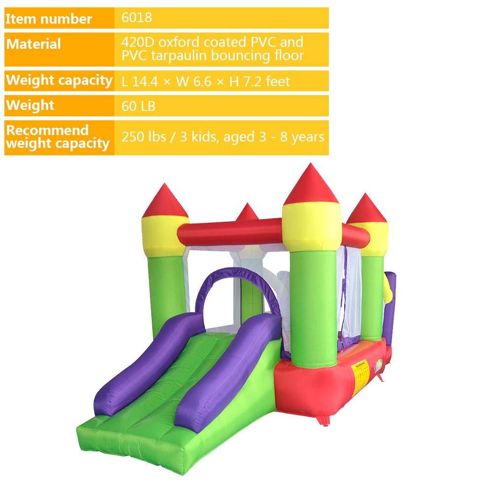 6018 inflatable trampoline bounce house bouncy castle bouncer_01