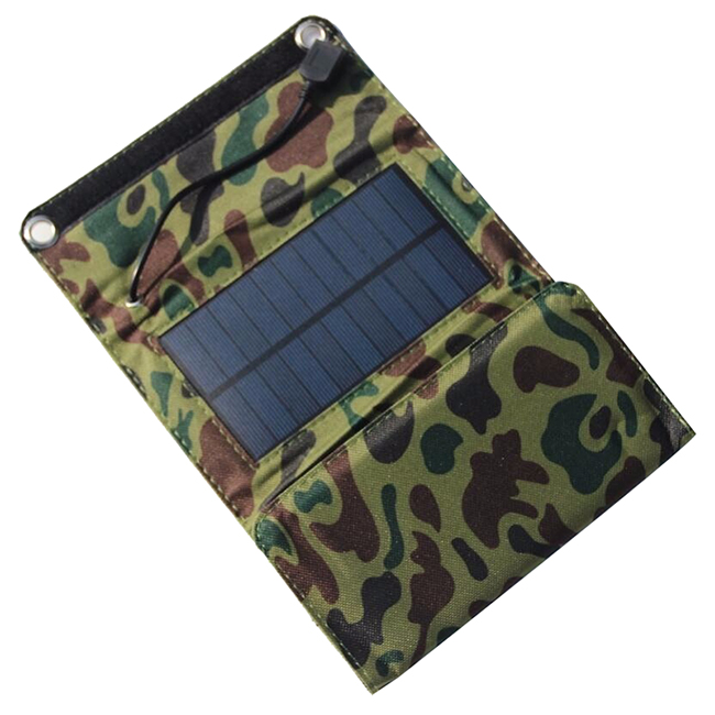 5W Fodable Solar Charger Solar Panel Charger For Mobile Phone 5W Solar Panel Charger For Power Bank