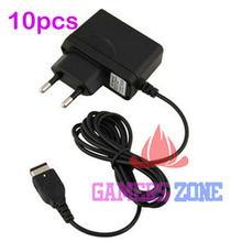 10pcs EU AC Home Wall Power Supply Charger Adapter Cable for Nintendo DS NDS GBA SP