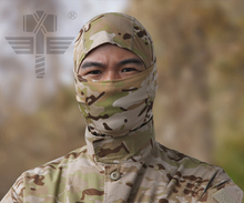 Quick Dry Multi-functional Hood Mask Paintball Camouflage Veil Mesh Breathable Scarf Chief Rattlesnake Full Face Multicam