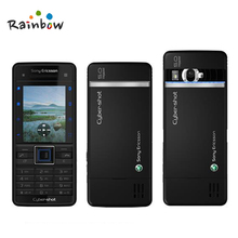 Original Unlocked Sony Ericsson C902 5MP Camera Mobile Phone Bluetooth FM radio GPS Email MP3 Music Detachable Battery(China)