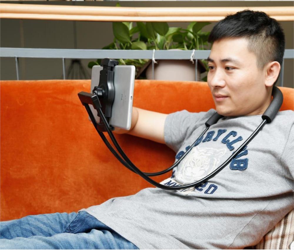 Baseus Flexible Mobile Phone Holder Universal Desk Phone Holder Stand Lazy Neck Bracket For iPhone Samsung iPad Tablet Holder