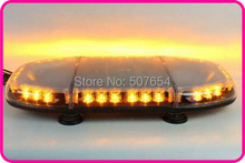 "High quality 24"" DC10-30V,40W bright Led mini lightbar/led emergency lightbar/warning light bar,11 flash,waterproof IP56"