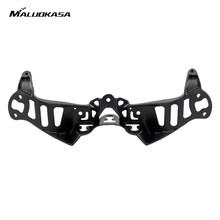 MALUOKASA Moto Upper Front Fairing Cowl Stay Headlight Bracket For Kawasaki ZX10R 2006 2007 Motorcycle Headlight Bracket Holder