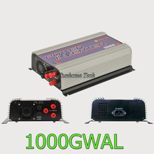 1000W grid tie inverter for 3phase AC22-60/45-90V wined turbine with dump load,MPPT pure sine wave wind turbine on grid inverter