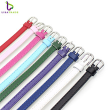 Buy 8mm Genuine Leather Bracelet DIY Wristband Bracelet Fit 8mm slide charms /slide letters Women & Men jewelry High LSBR016 for $1.29 in AliExpress store
