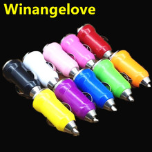 1000pcs Micro USB Car Charger Colours Mini Car Chager Adapter for Cell Mobile Phone for iPhone 6 5 3G 3GS 4 4S 5 for MP3 MP4