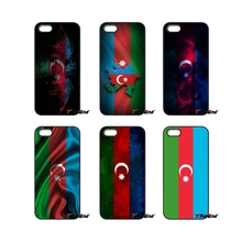 For iPod Touch iPhone 4 4S 5 5S 5C SE 6 6S 7 Plus Samung Galaxy A3 A5 J3 J5 J7 2016 2017 Azerbaijan Flag banner AZ Case Cover(China)