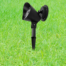 Pack Outdoor 3 Led Solar Power Energy Light Lawn Garden Security Lamp Lands Lampcape Path Lamp