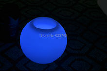 Ball bars Table Light Waterproof rechargeable for LED Flower pot/LED Ice Bucket/LED Storage tank(China)