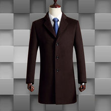 new combination price Single Breasted winter men wool coat fashion hihg quality blazer luxury slim suit size M-3XL 1723