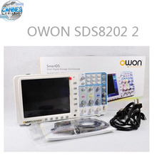 OWON SDS8202 2 channel DSO 200 MHz 2 GSa/s sample rate 10 MSa Memory Depth LAN or VGA Interface.