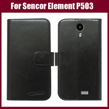 Hot sale! For Sencor Element P503 Case,High Quality Fashion Flip Leather Protective Case For Sencor Element P503 Cover Phone Bag(China)