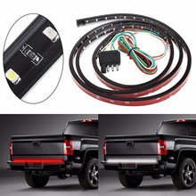 "49"" Truck SUV Tailgate Light Bar LED Red/White Reverse Stop Running Turn Signal 72LED Brake/Reverse/Signal/Rear Strip Light(China)"
